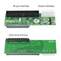 SATA To Pata IDE Converter Adapter Plug&Play 7+15 Pin 3.5/2.5 Sata HDD D JM20330