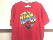 VINTAGE NIKE AIR AFRO RED T SHIRT SZ L MADE IN EUROPE