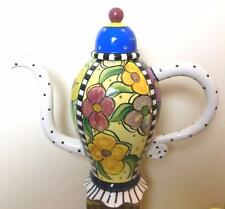 "McGovney and Camarot Fabulous Tea Pot by Charma Flowers 13 x 14"""