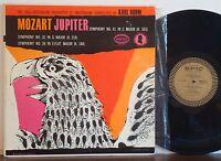 """MILTON GLASER COVER Karl Bohm-Concertgebouw MOZART """"Jupiter"""" RARE 1956 EPIC LP"""
