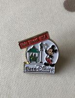 Vintage Walt Euro Disney Esso Mickey Mouse Main Street USA Pin Badge Brooch Vgc
