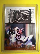 """""""Bronze"""" 1998 Upperdeck Terrell Davis Denver Broncos Super Powers card #S30 MINT"""