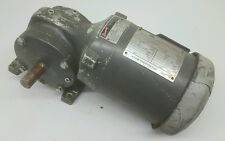 BROWNING TEFC INDUSTRIAL .5HP MOTOR 575V 3 PHASE SYNCROGEAR REDUCER RATIO 58