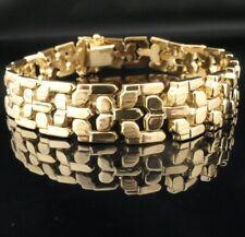 Wundervolles Gold-Armband 585 14K Gelbgold in zauberhaftem Design - Hingucker !*
