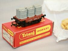 Vintage Triang OO Gauge R340 3 Containers Wagon, Boxed RN B734259 # 2