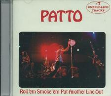PATTO - ROLL 'EM SMOKE 'EM PUT ANOTHER LINE OUT MIKE PATTO OLLIE HALSALL CD +BBC