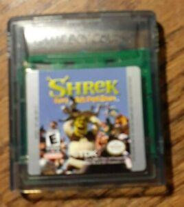 Shrek: Fairy Tale FreakDown (Nintendo Game Boy Color, 2001) VG Shape & Tested
