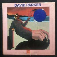 DAVID PARKER David Parker SHRINKWRAP POLYDOR UK Original 1971 VINYL LP FOLK