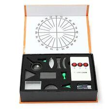 Scientific Optical Experiment Equipment Box Prism Convex Lens Concave Mirror Set