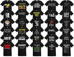 Funny Mens T-Shirts joke t-shirt clothing birthday novelty t shirts tee shirt