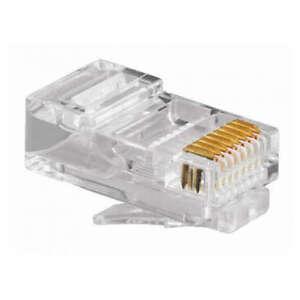 10 X RJ45 cat6 categoria 6 Clavija Conector Red Ethernet Crimpar