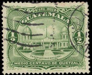 """GUATEMALA 233 - National Observatory """"1929 de la Rue"""" (pf7813)"""