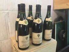 Lot de 7 bouteilles Crozes Hermitage Blanc Cave de Tain récolte 1988