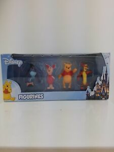 "DISNEY WINNIE THE POOH & FRIENDS 2"" FIGURINES SET OF 4 - NEW"