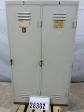Spind Stahlspind Kleiderschrank Garderobe Retro Vintage Loft Industrie #28362
