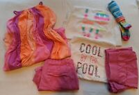 (6) The Children's Place Youth  Girl Summer Dress, Tank Top, Shorts Size 14  EUC