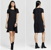 Mossimo Women's Black Knit T-Shirt Dress Medium NWT