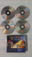 CD Trésors des enfants-Coffret 4 disques-65 contes-Très bon état-Envoi immédiat