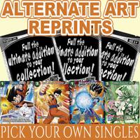 SPECIAL ANNIVERSARY BOX ALTERNATE ART CARDS SINGLES (Dragon Ball Super TCG)