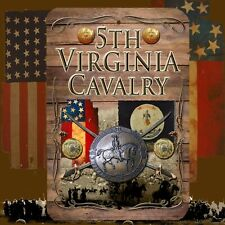 5th Virginia Cavalry 8 X 12 Aluminum Sign with top & bottom mounting holes