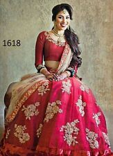 Designer Wedding Ethnic Partywear Bridal Lehenga choli Indian Bollywood Ghagra