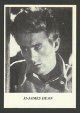 James Dean Movie Film Star Actor - 1970 Belgian Sticker Card