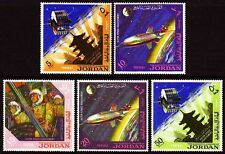Jordanien Jordan 1965 ** Mi.541/45 A Weltraum Space Astronauten Astronauts
