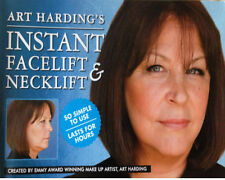 Miracle!!ANTI WRINKLES Instant Face Lift & Neck Lift-Dark Hair.ART HARDING'S