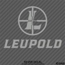 Leupold Optics Logo Decal Outdoors Hunting & Shooting - Choose Color