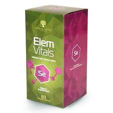 PURE HERBS  -ElemVitals Selenium With Siberian Herbs (60cap) (Vegetarian cap)
