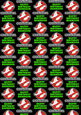 GHOSTBUSTERS Personalised Gift Wrap - Ghostbusters Wrapping Paper - Slimmer