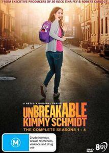 Unbreakable Kimmy Schmidt - Season 1-4   Complete Series DVD