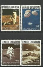 Central Africa 1989 - Space, MNH