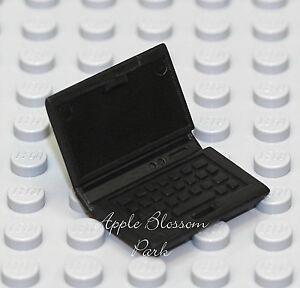 NEW Lego Minifig BLACK LAP TOP COMPUTER - Boy/Girl Minifigure School Accessory