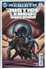 JUSTICE LEAGUE of AMERICA #12 - DOUG MAHNKE VARIANT COVER - DC COMICS/2017