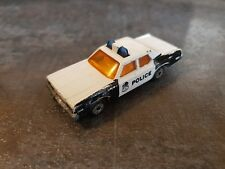 Matchbox Superfast  Nr. 10 Plymouth Metro Police ohne Karton bespielt