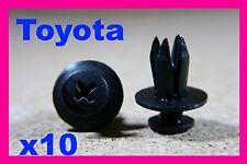 10 TOYOTA A PRESSIONE TIPO FISSAGGIO INTERNO CLIP FISSAGGIO