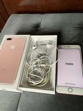 Apple iPhone 7 Plus - 128GB - Rose Gold (Verizon) A1661 (CDMA + GSM) Unlocked