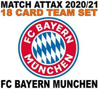 Match Attax Champions League 2020/21 FC BAYERN MUNCHEN 18 card team set