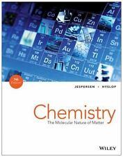 NEW Hardcover Textbook Chemistry The Molecular Nature Of Matter Jespersen 7th ED