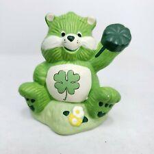 Care Bears Green Irish Shamrock Ceramic Figurine