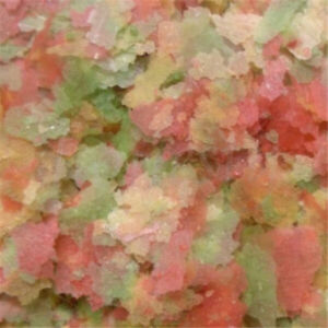 10/200g Colorful Fresh Tropical Fish Flakes Food Tank Aquarium Fish larvae Feed