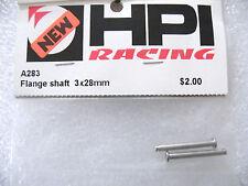 HPI A283 Flange Shaft 3x28mm vintage new RS4