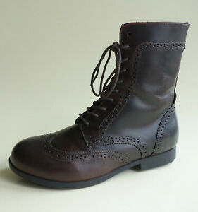 BIRKENSTOCK Women's Mid-Calf Leather Boot LARAMIE darkbrown US6 EU37 UK4 Regular