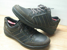Nice Casual Ecco Gore tex Men's Leather Shoes, Waterproof, EUR 42,US 8-8.5