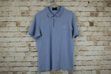 Fred Perry Blue Polo Shirt size M Slim Fit