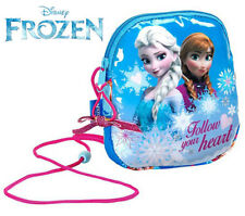Official DISNEY Frozen - Mini Shoulder Bag Girls Handbag  - Anna Elsa 606