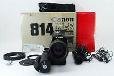 *Mint In BOX* Canon 814 XL-S Electro Super 8mm Vintage Movie Camera From JAPAN
