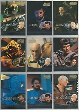 "Star Trek TNG Profiles - ""Alter Ego"" Set of 9 Chase Cards #AE1-AE9"
