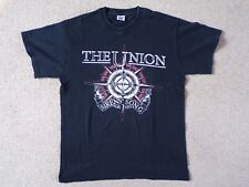 The Union Siren's Song UK Tour 2011 M T-Shirt Rock Band Merchandise Memorabilia